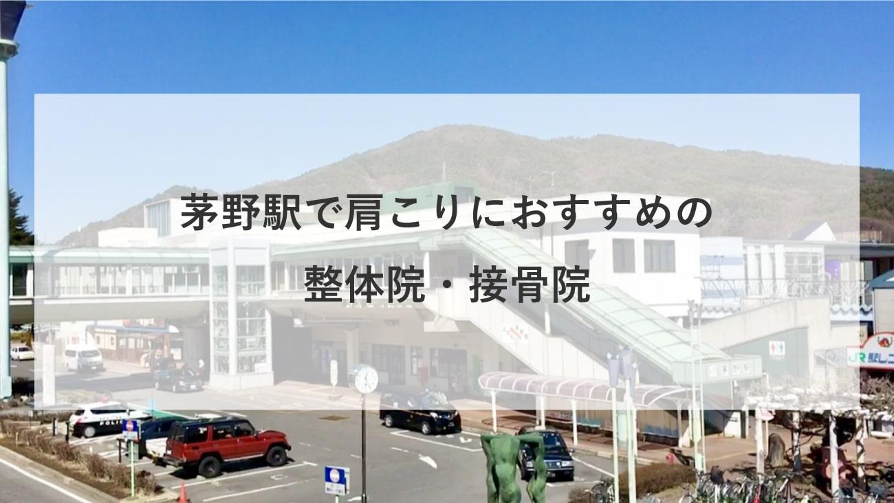 【茅野駅】周辺で肩こりにおすすめの整体院・接骨院3選!のMV画像