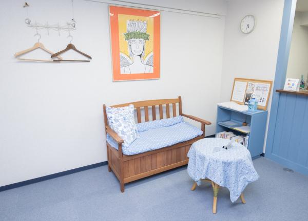 ソレイユカイロプラクティック療院の待合室画像