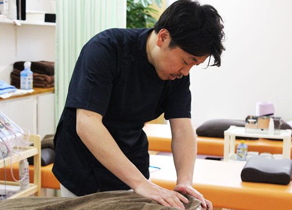 福田鍼灸整骨院の施術風景画像