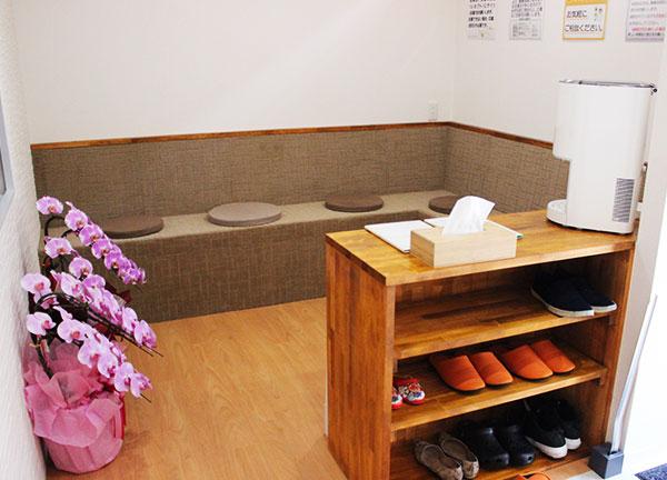福田鍼灸整骨院の待合室画像