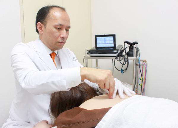 はり・灸・マッサージ 東京荻窪KAZ治療院の施術風景画像
