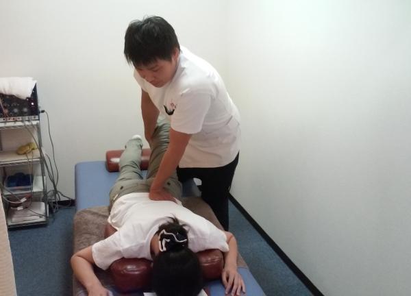 住吉あびこ鍼灸整骨院の施術風景画像
