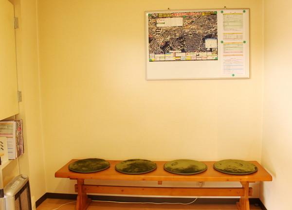 森風堂治療院の待合室画像