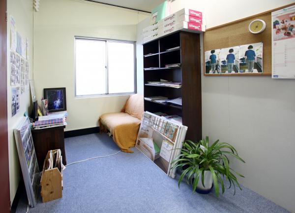 ひまわりカイロプラクティックの待合室画像
