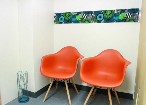 エビサン整骨院の待合室画像