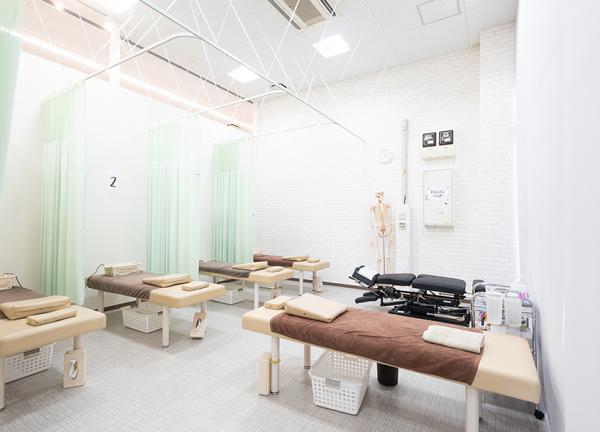 すずらん鍼灸接骨院昭和橋通院の内観画像