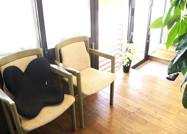 鍼灸院おるきの待合室画像