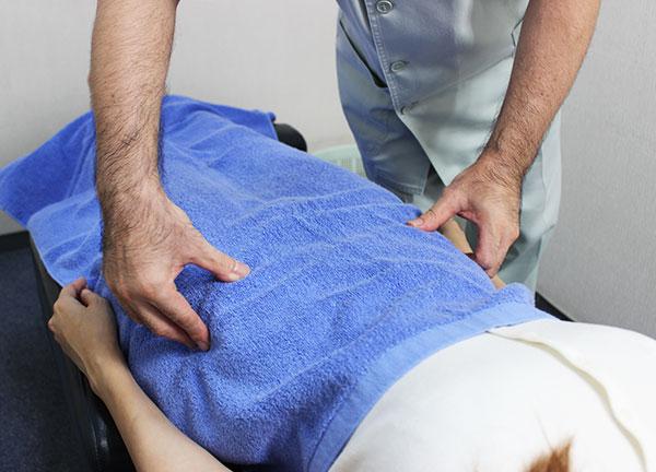 カリヤ鍼灸整骨院の施術風景画像