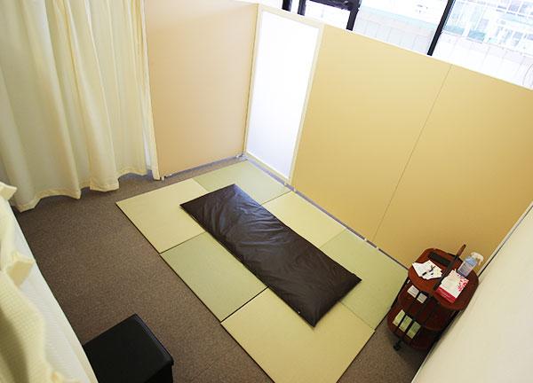 三木針きゅう整骨院の内観画像