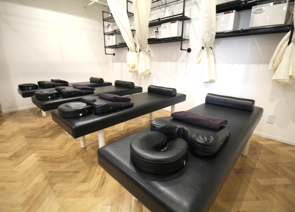 Shinjukuの鍼灸整骨院の内観画像