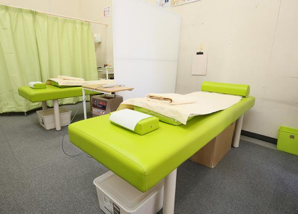 厚別鍼灸整骨院の内観画像