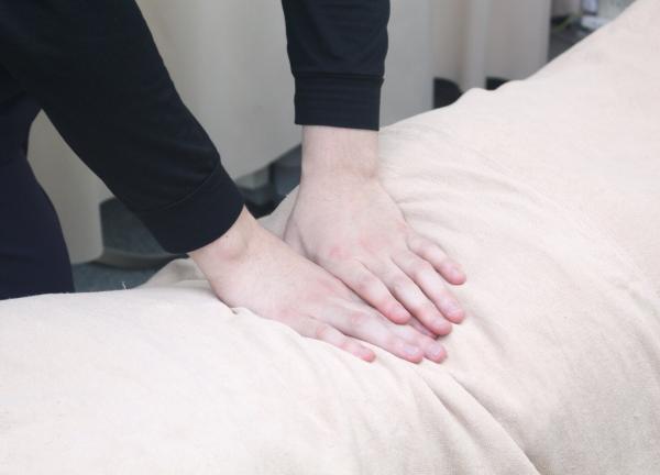 天心堂接骨鍼灸マッサージ院の施術風景画像