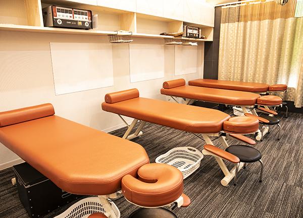本町・もりわき骨盤鍼灸整骨院の内観画像