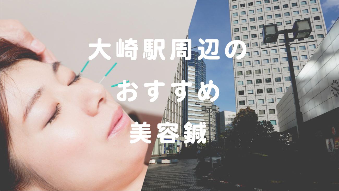 大崎駅周辺で美容鍼が受けられるおすすめ鍼灸のコラムのメインビジュアル