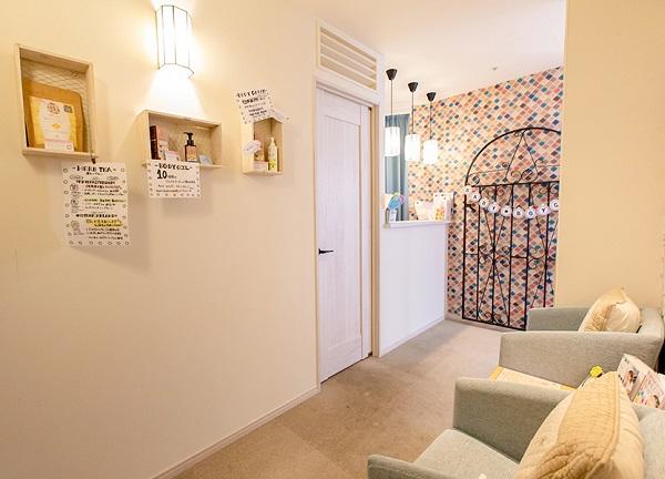 天使のたまご湘南鎌倉バースクリニック店の待合室画像
