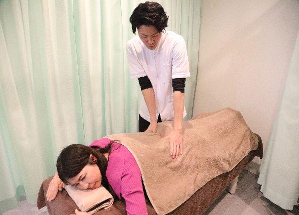 くわえ鍼灸整骨院の施術風景画像