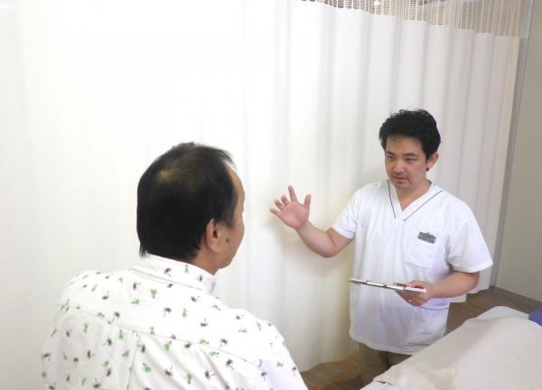 ひょうたん鍼灸接骨院の施術風景画像