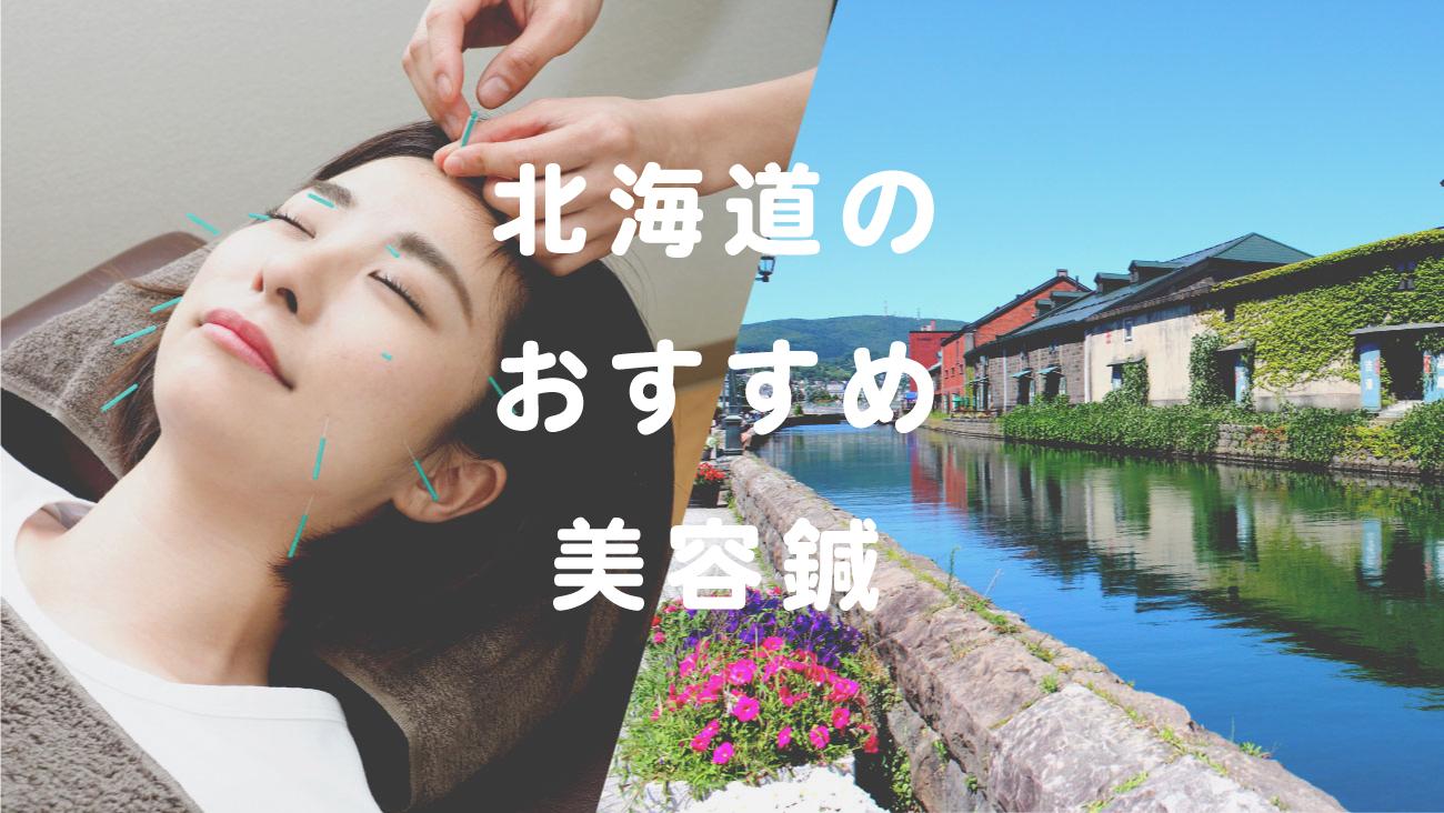 北海道で美容鍼が受けられるおすすめ鍼灸のコラムのメインビジュアル