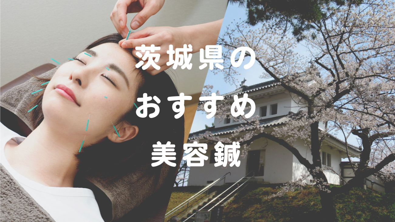 茨城県で美容鍼が受けられるおすすめの鍼灸院のコラムのメインビジュアル