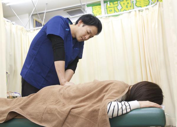 エイト鍼灸整骨院の施術風景画像