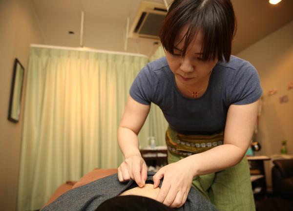 はり きゅう リラクゼーション 治療院 治haruの施術風景画像