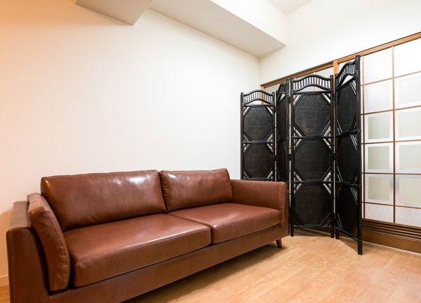 ハートフル鍼灸院の待合室画像
