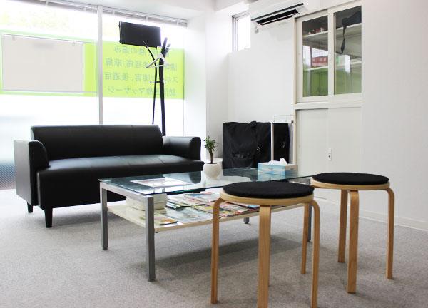 こおし小幡緑地治療院の待合室画像