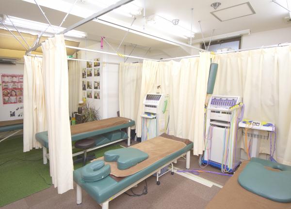 エイト鍼灸整骨院の内観画像