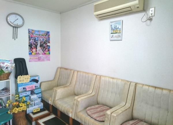 寺谷接骨院の待合室画像