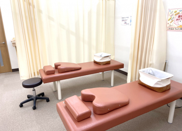 むげん鍼灸接骨院の内観画像