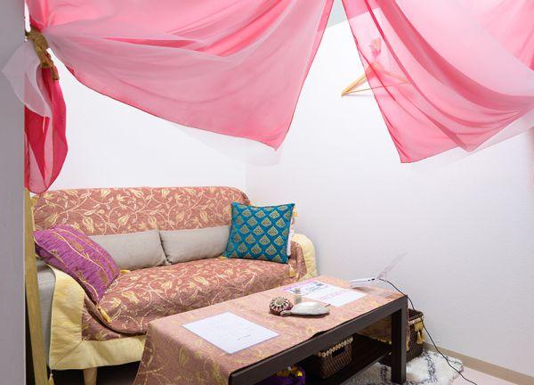 HARICHE鍼灸院の待合室画像