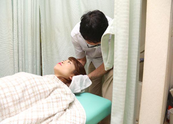 もりもと鍼灸整骨院の施術風景画像