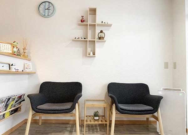 リライフ治療院の待合室画像