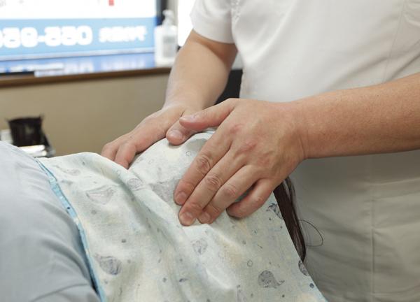 あんま・指圧・マッサージ はり・きゅう 治療院 大石の施術風景画像
