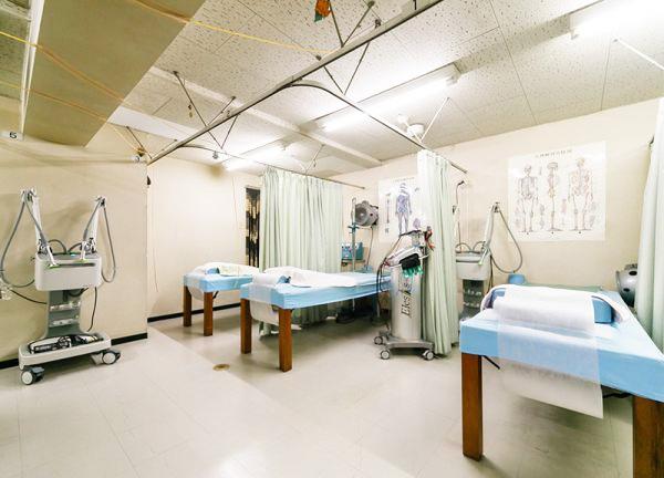 松原整骨治療院の内観画像