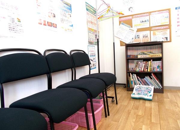 きらきら針灸整骨院の待合室画像