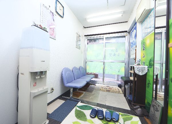 畠山治療院の待合室画像