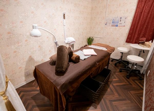美容鍼灸院 ブレア銀座の内観画像
