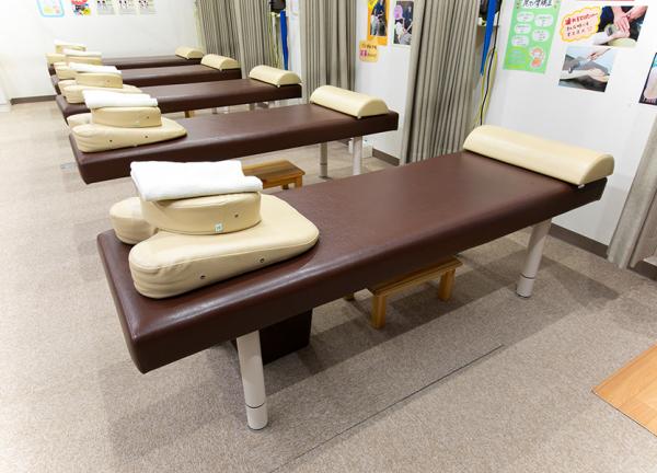 新津名倉堂鍼灸整骨院の内観画像